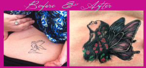 cover up tattoo fairy