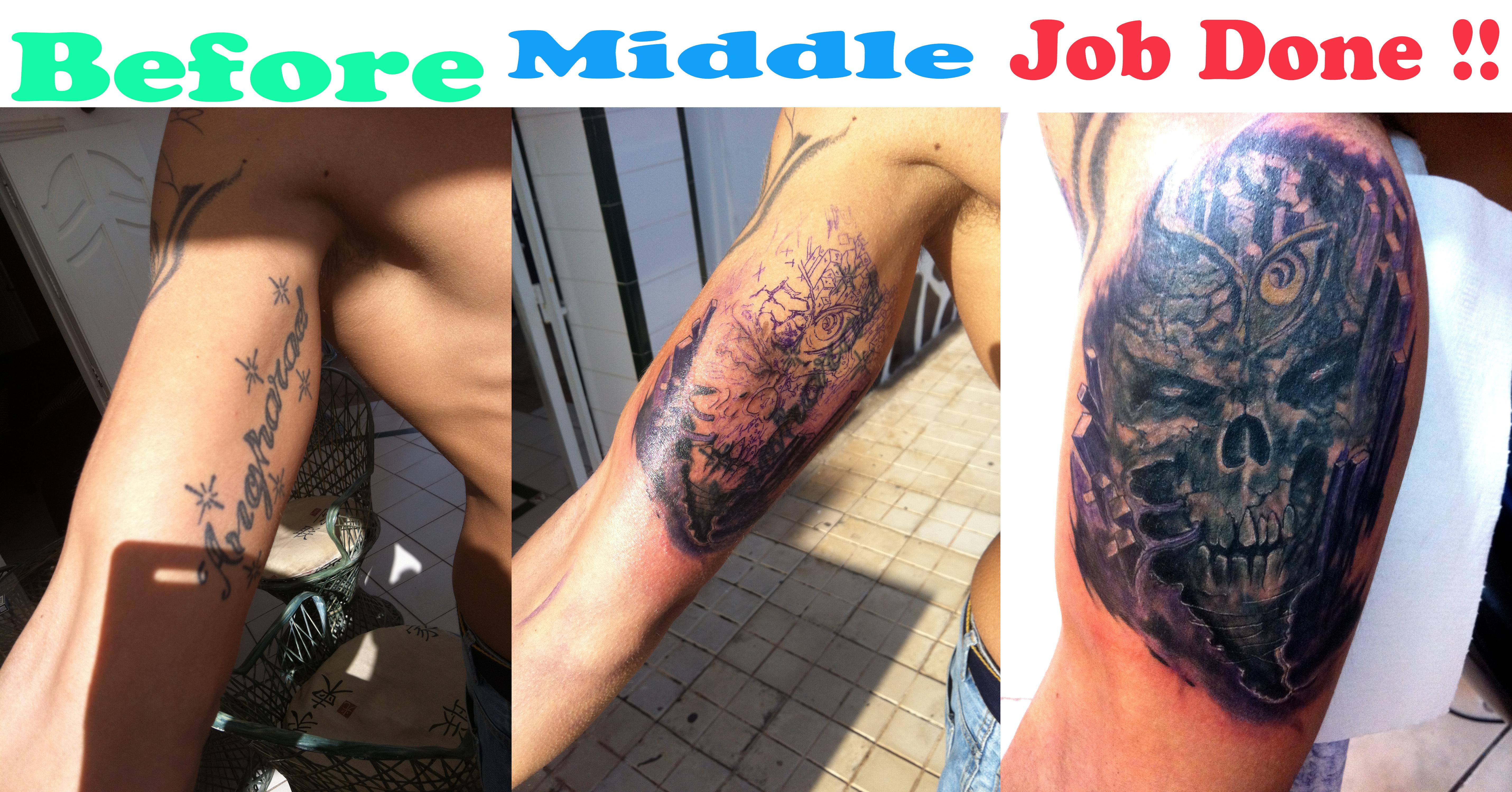 Tears of Fenix Tattoo Studio Cover Up Series