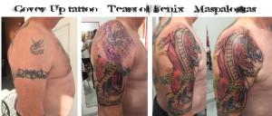 cover-up tatoo dragon protector