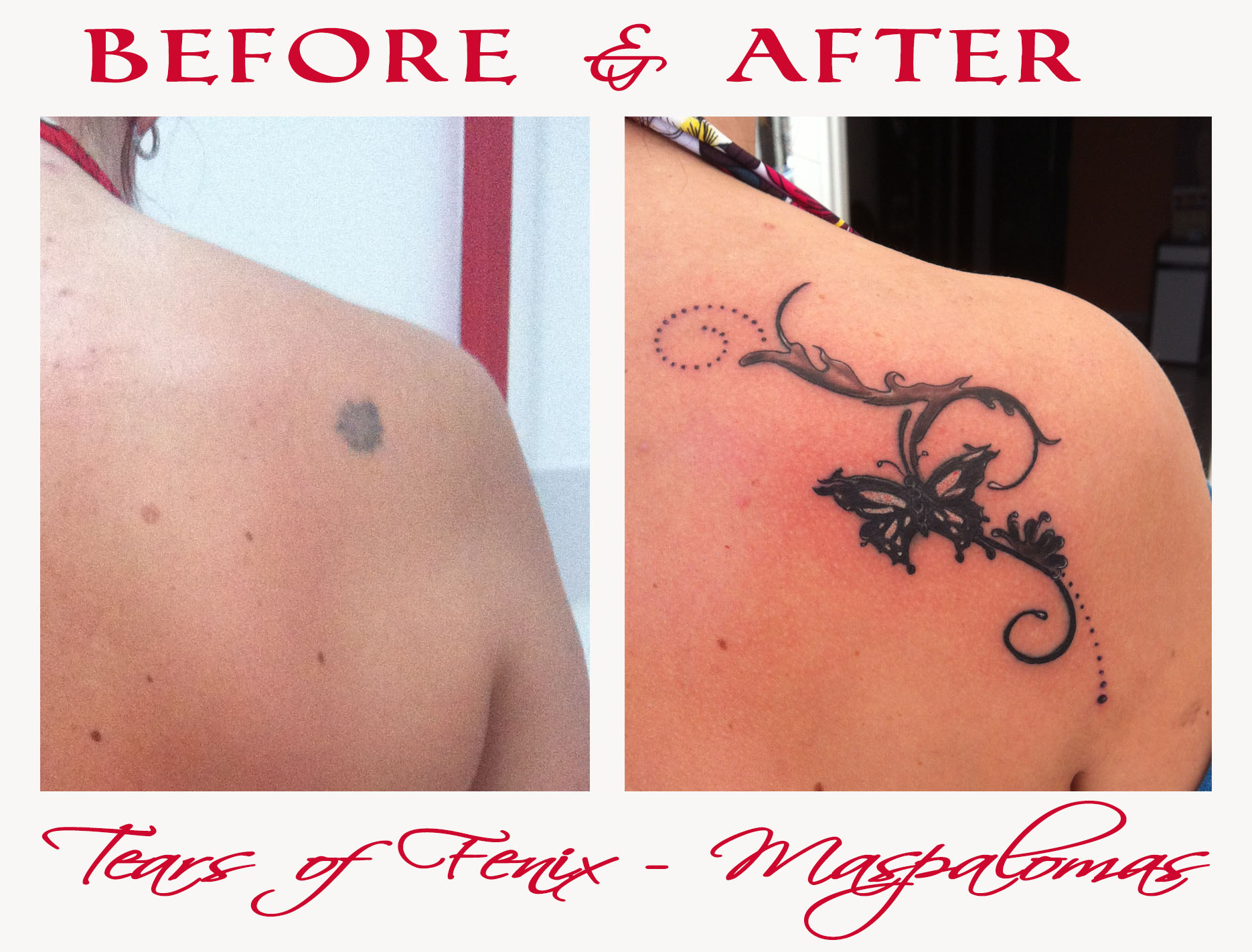 Tatouage Maspalomas Tears of Fenix