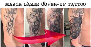 major lazer cover up tattoo
