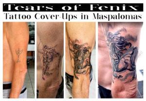 sagitarios tattoo cover up tatouage maspalomas
