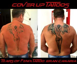 tattoo cover up artist gran canaria