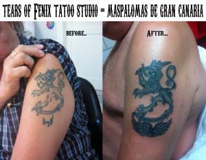 tatouage maspalomas cover up tattoo gran canaria