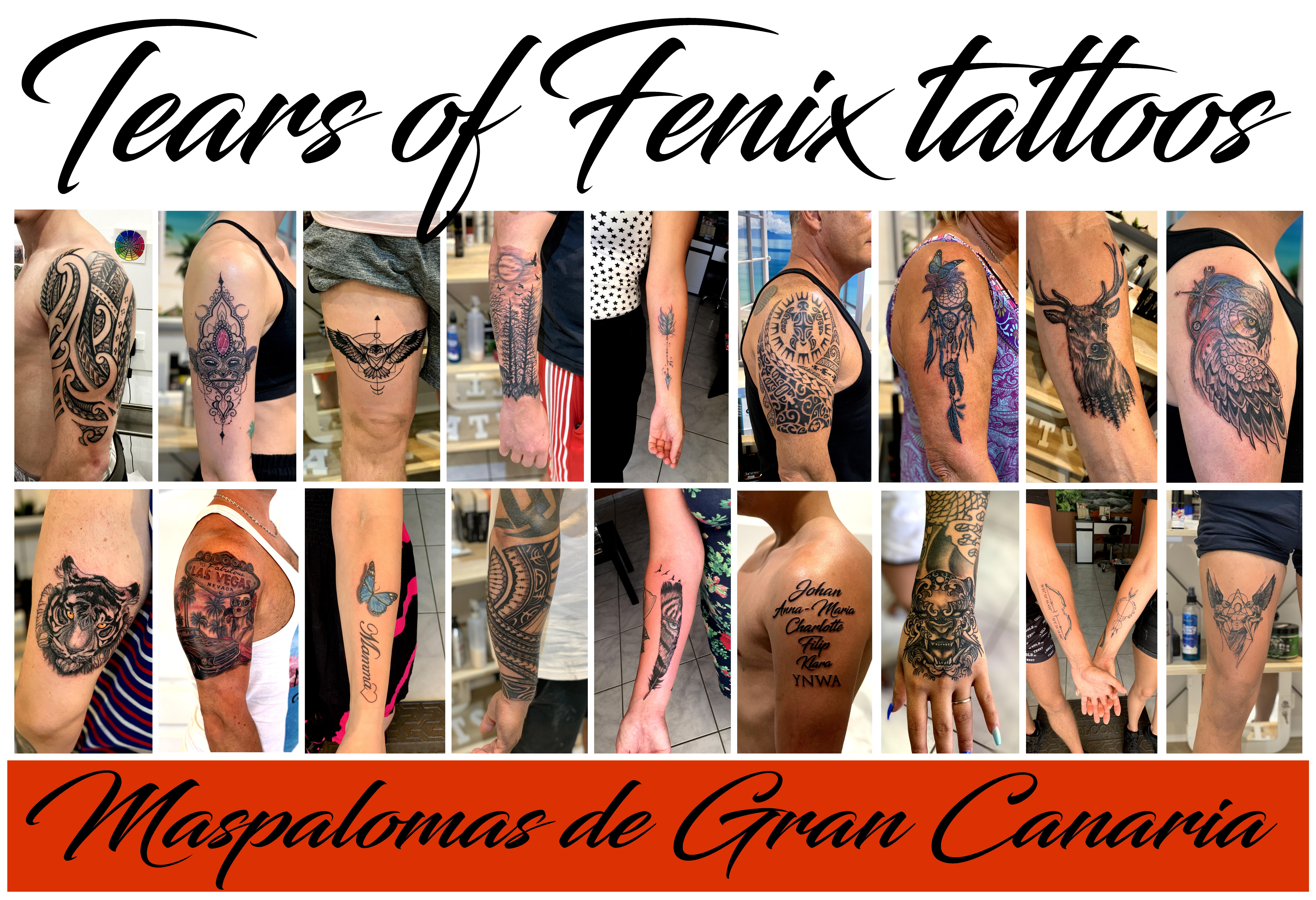 Tears of Fenix tattoo studio – Maspalomas